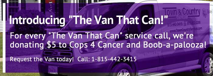 The Van That Can - Service Van