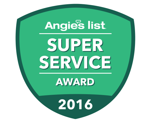 Angie's List Super Service Award 2016 Winner