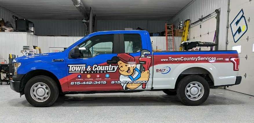 Town & Country Services New Logo