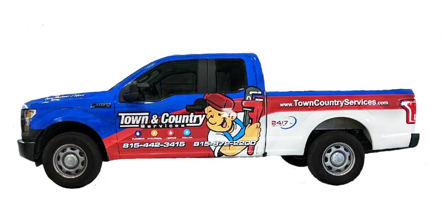 Town Country Services Truck
