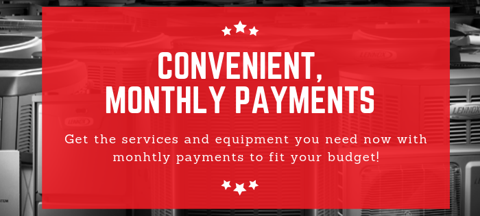 monthly payments with approved credit
